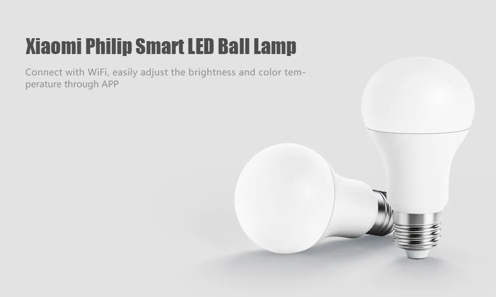 Xiaomi Philips Smart Led Bulb E27 With App Remote Control (5)