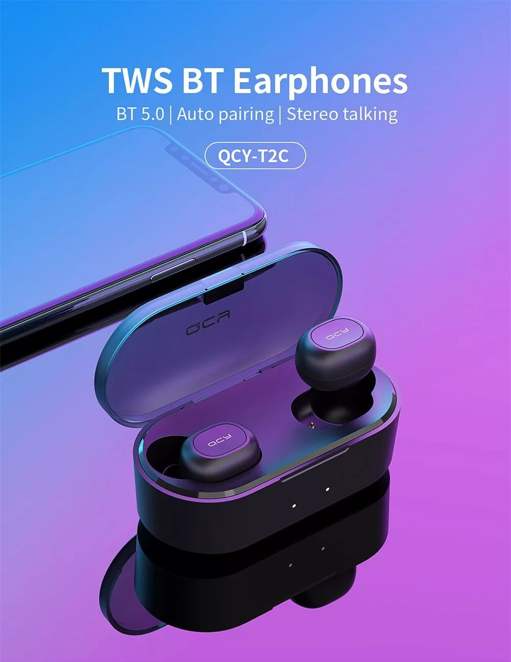 Xiaomi Qcy T2c Mini Tws Earphones (10)