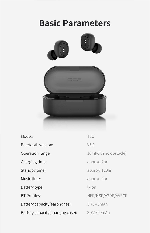 Xiaomi Qcy T2c Mini Tws Earphones