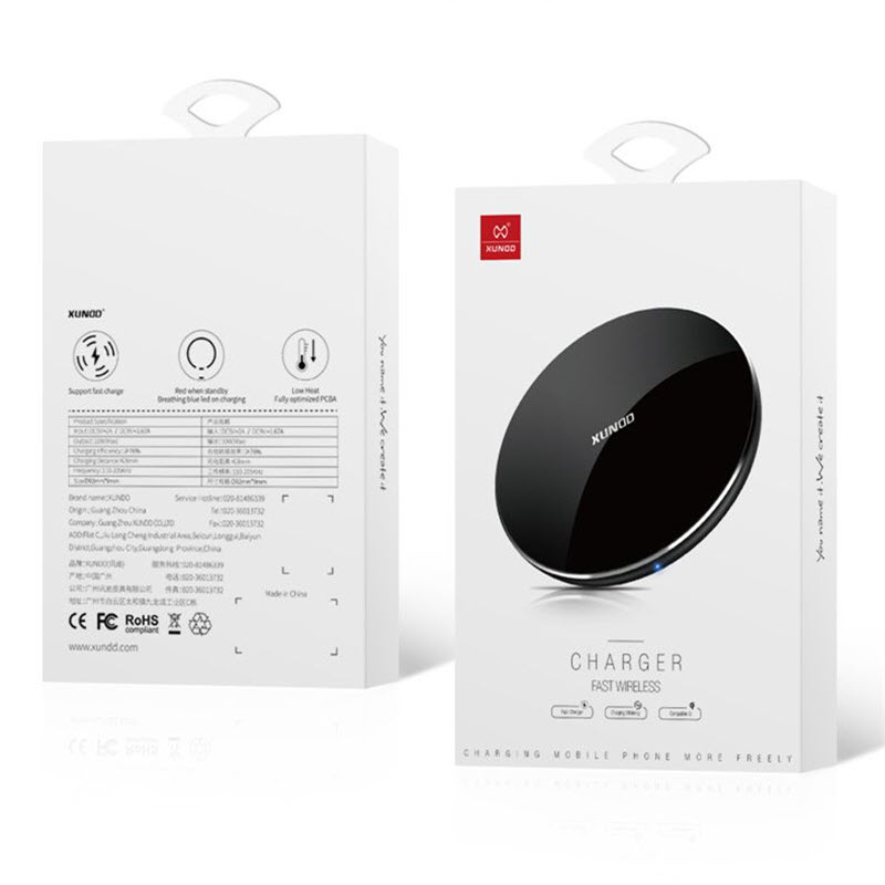 Xundd 10w Qi Wireless Charger Pad (1)