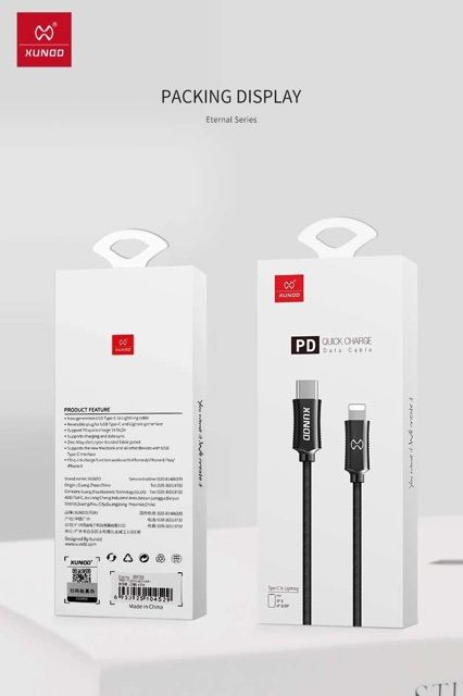 Xundd Eternal Series Type C To Lighting Cable (1)
