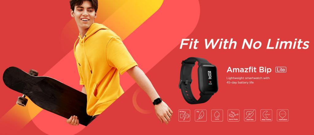 Amazfit Bip Pace Lite Smartwatch