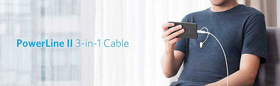 Anker Powerline Ii 3 In 1 Cable (1)