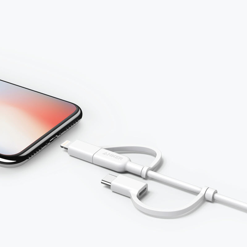 Anker Powerline Ii 3 In 1 Cable (4)
