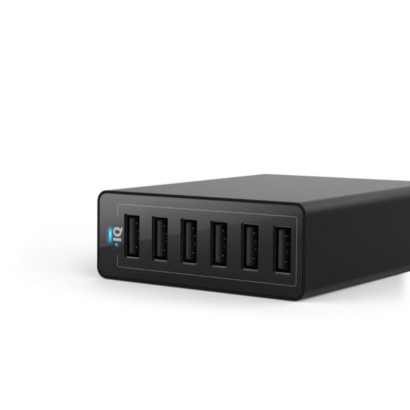 Anker Powerport 60w 6 Ports Usb Charger (1)