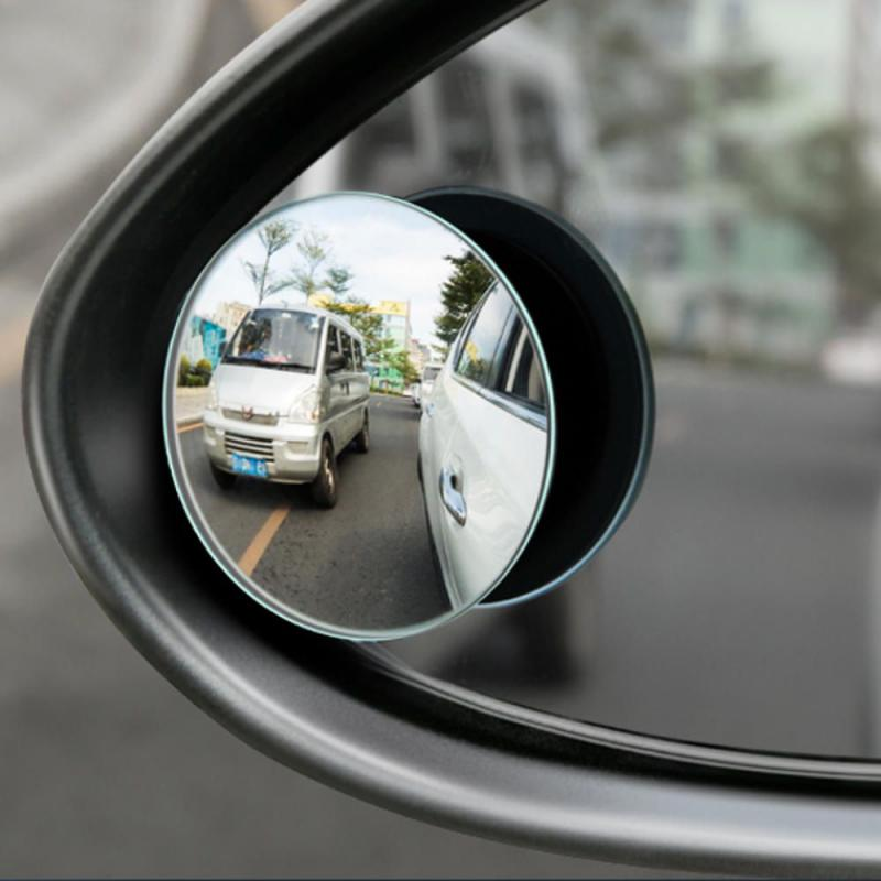 Baseus 2pcs 49mm Car Blind Spot Rearview Mirror (3)