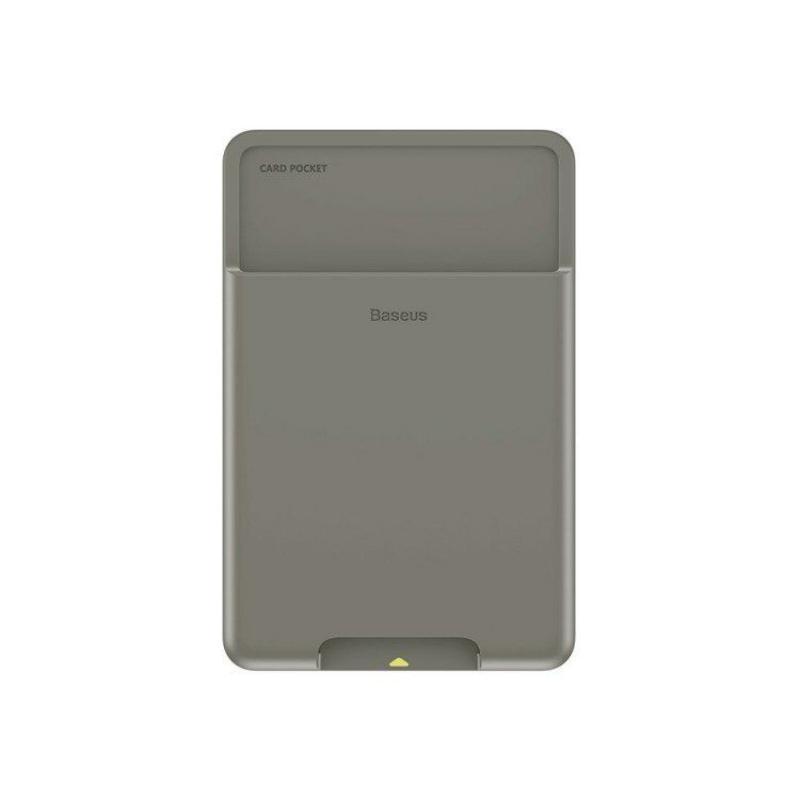 Baseus Back Stick Silicone Card Bag (3)
