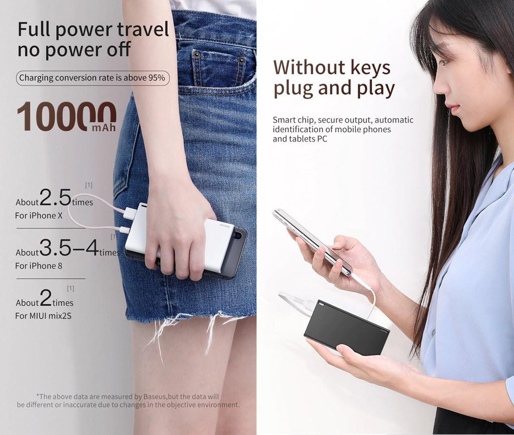 Baseus Choc Ultra Slim 10000mah Power Bank (2)