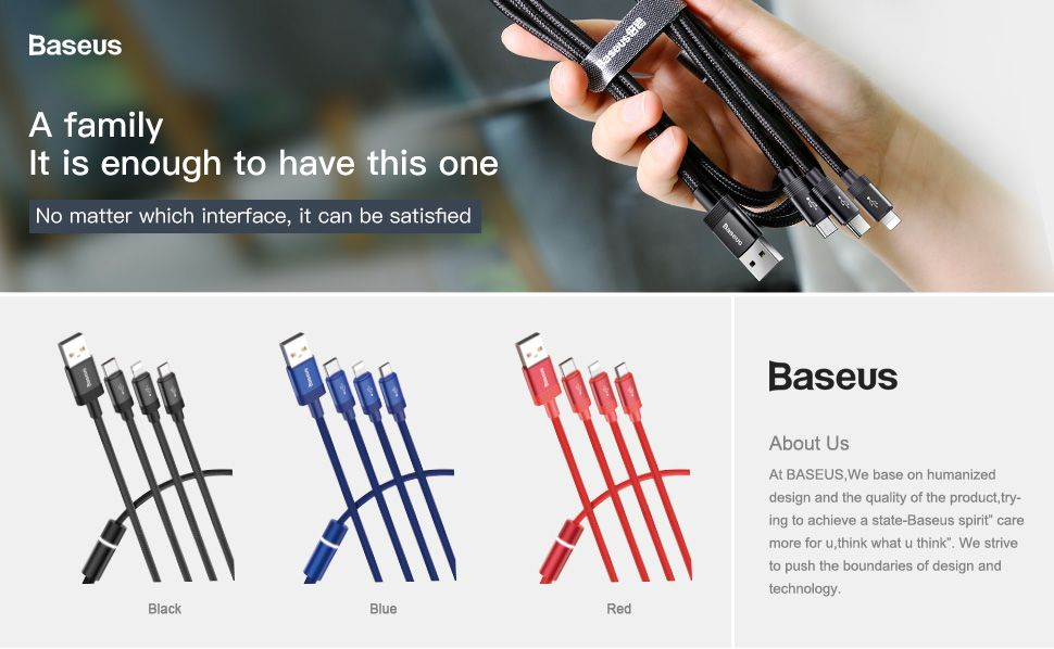Baseus Data Faction 3 In 1 Cable (1)
