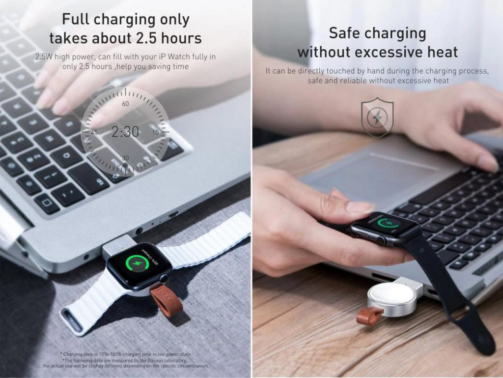 Baseus Dotter Wireless Charger For Ap Watch (2)