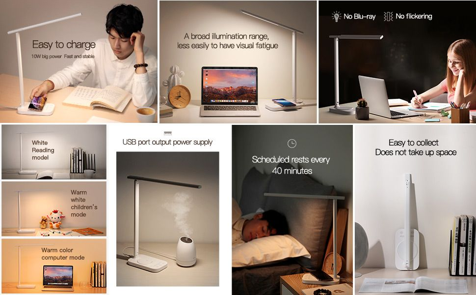 Baseus Lett Wireless Charging Folding Desk Lamp (2)