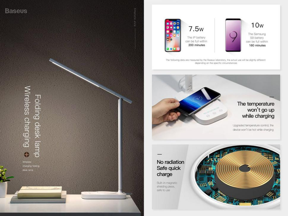Baseus Lett Wireless Charging Folding Desk Lamp (3)