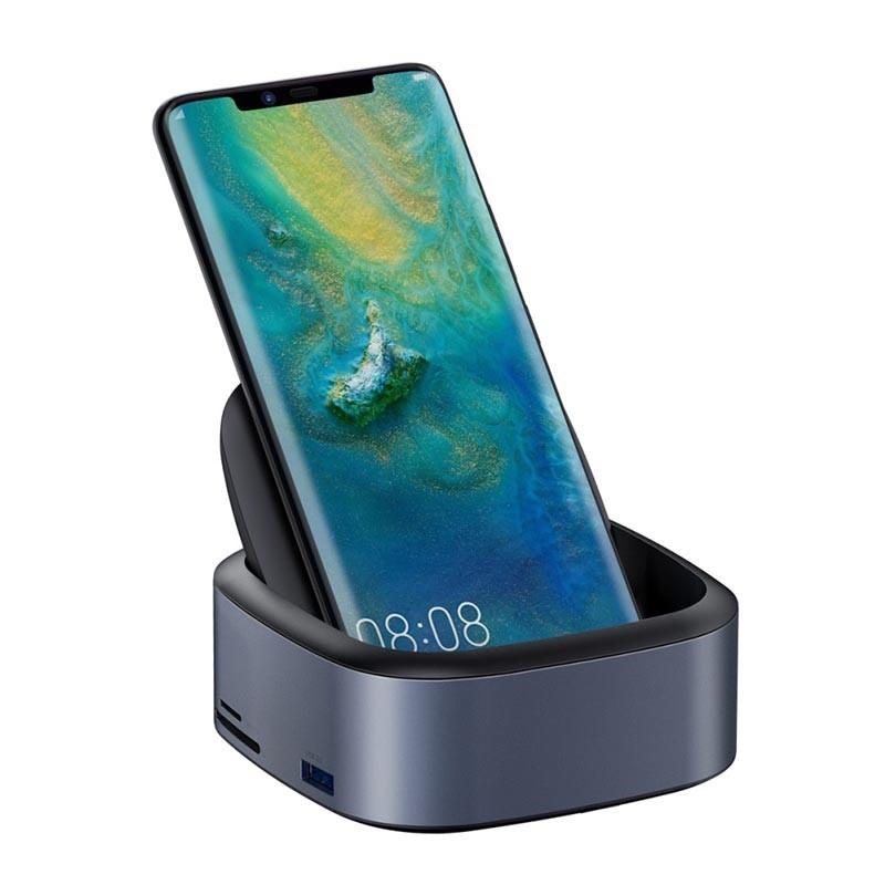 Baseus Mate Docking Type C Mobile Phone Intelligent Hub Expanded Socket (1)