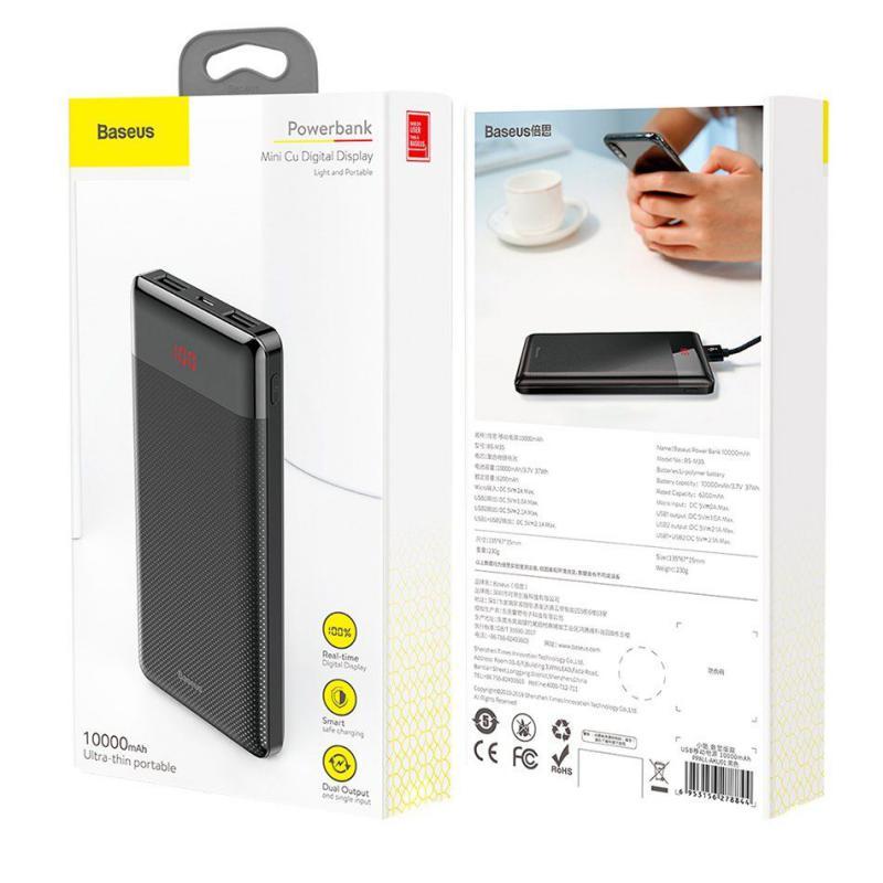 Baseus Mini Cu Power Bank 10000 Mah (6)
