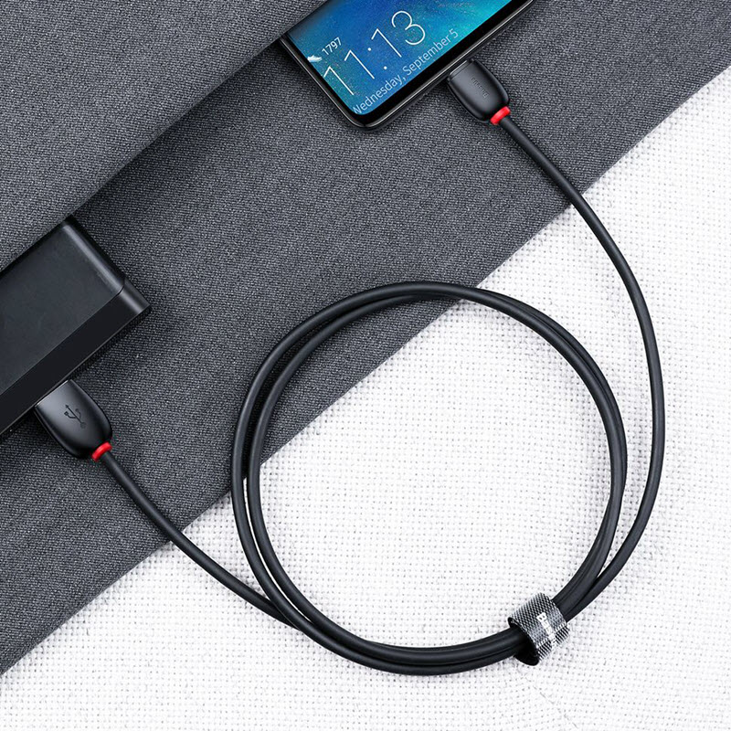 Baseus Purple Ring Type C Cable (2)