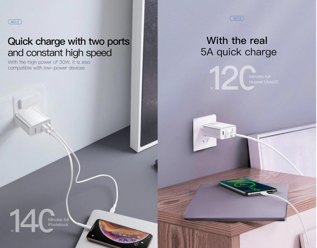 Baseus Quick Charge 4 30w Usb Charger (2)