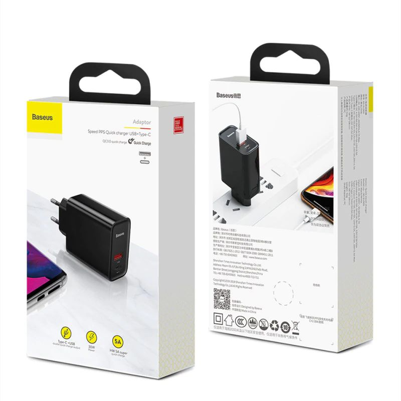 Baseus Quick Charge 4 30w Usb Charger (3)