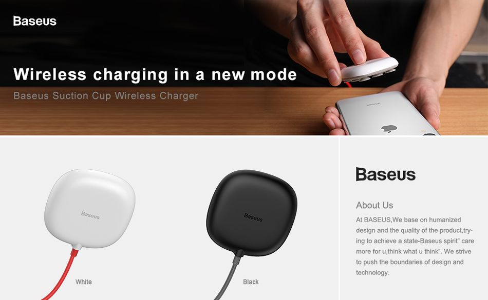 Baseus Suction Cup Wireless Charger (1)