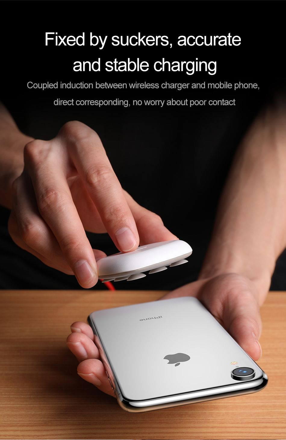 Baseus Suction Cup Wireless Charger (4)