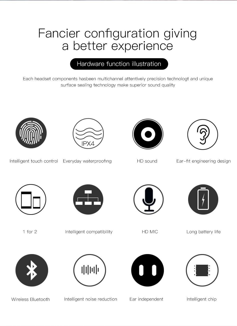 Baseus W02 Tws Bluetooth Earphone Wireless Earbuds (10)