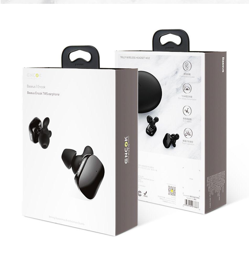 Baseus W02 Tws Bluetooth Earphone Wireless Earbuds (2)