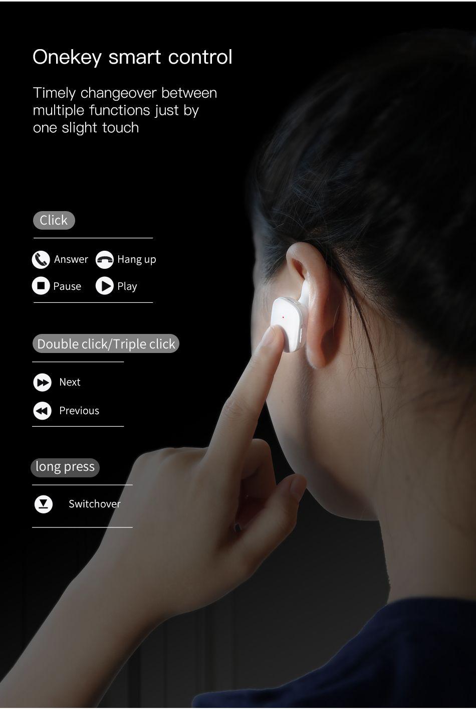 Baseus W02 Tws Bluetooth Earphone Wireless Earbuds (6)