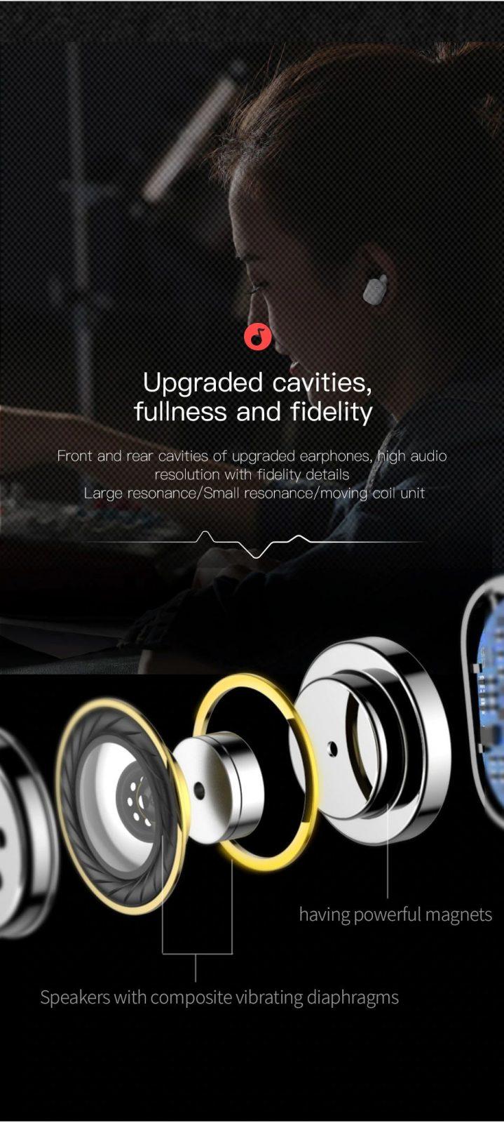 Baseus W02 Tws Bluetooth Earphone Wireless Earbuds (7)