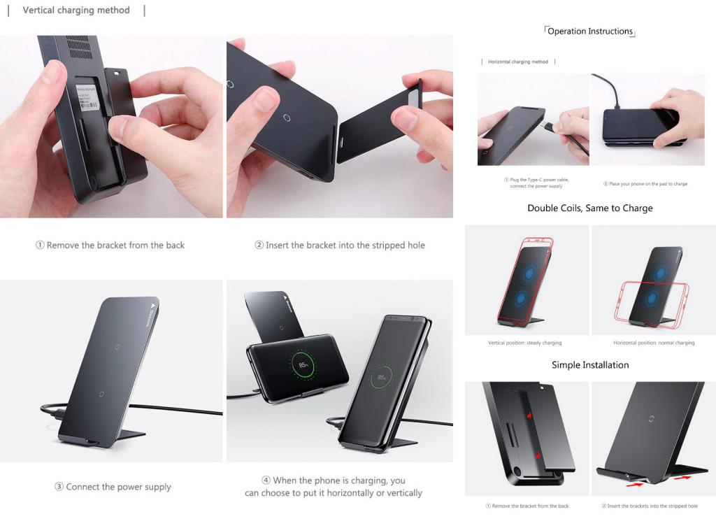 Baseus Wic1 Double Coil Qi Wireless Charger (2)