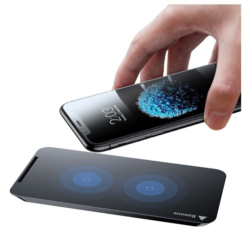Baseus Wic1 Double Coil Qi Wireless Charger (3)