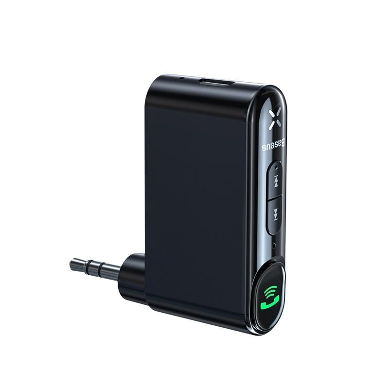 Baseus Wireless Bluetooth Car Kit Hands Free 3 5mm Jack Aux Audio Receiver Adapter (1)