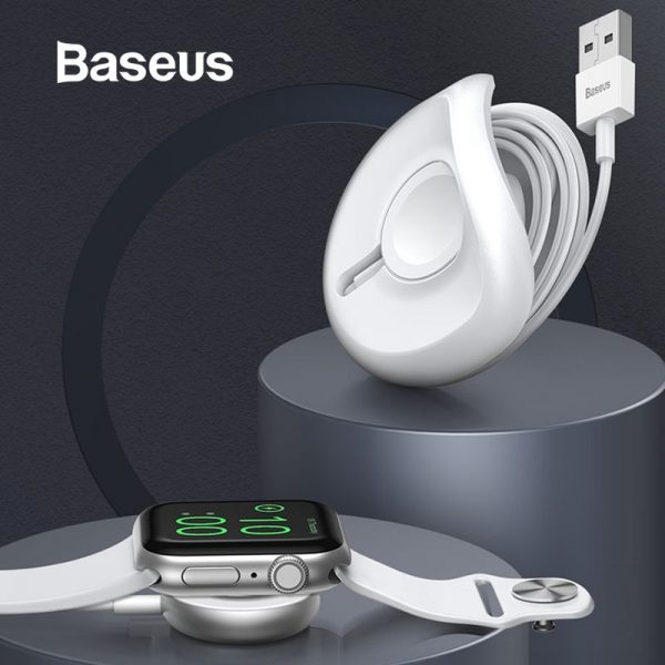 Baseus Yoyo Wireless Charger For Apple Watch Series 4 3 2 With 1m Usb Cable (3)