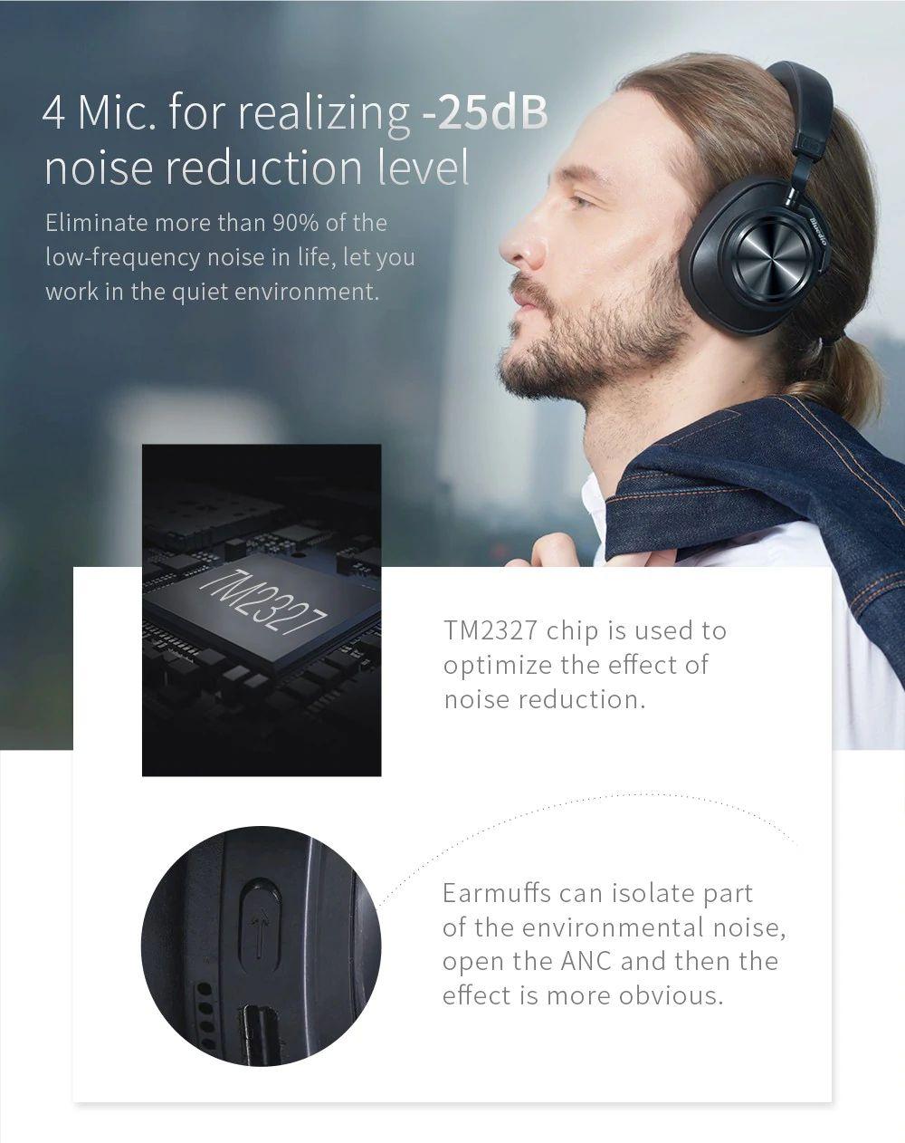 Bluedio T7 Wireless Bluetooth Headphones (6)