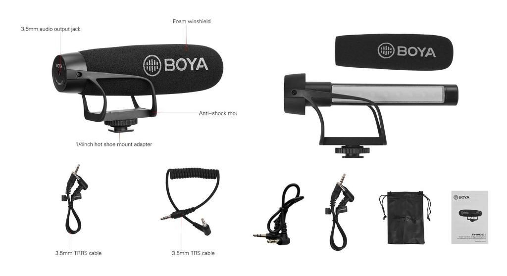 Boya By Bm2021 Lightweight Super Cardioid Video Microphone (1)