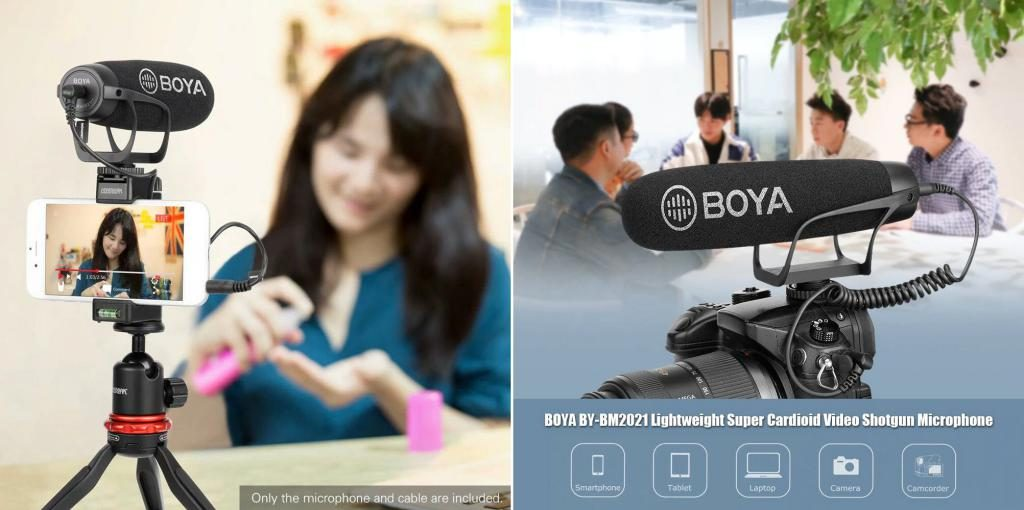 Boya By Bm2021 Lightweight Super Cardioid Video Microphone (2)