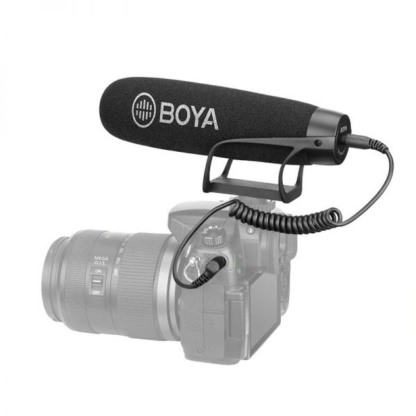 Boya By Bm2021 Lightweight Super Cardioid Video Microphone (2)