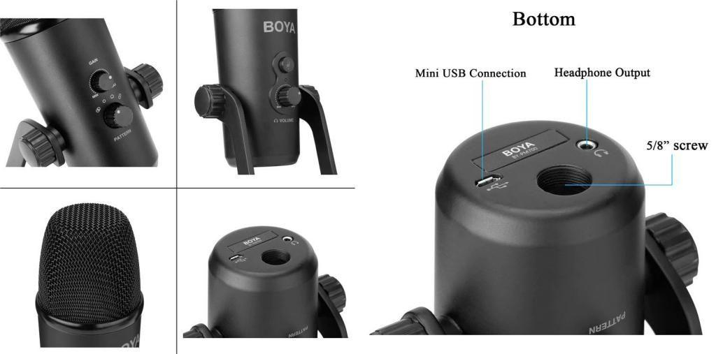 Boya By Pm700 Usb Condenser Microphone (2)
