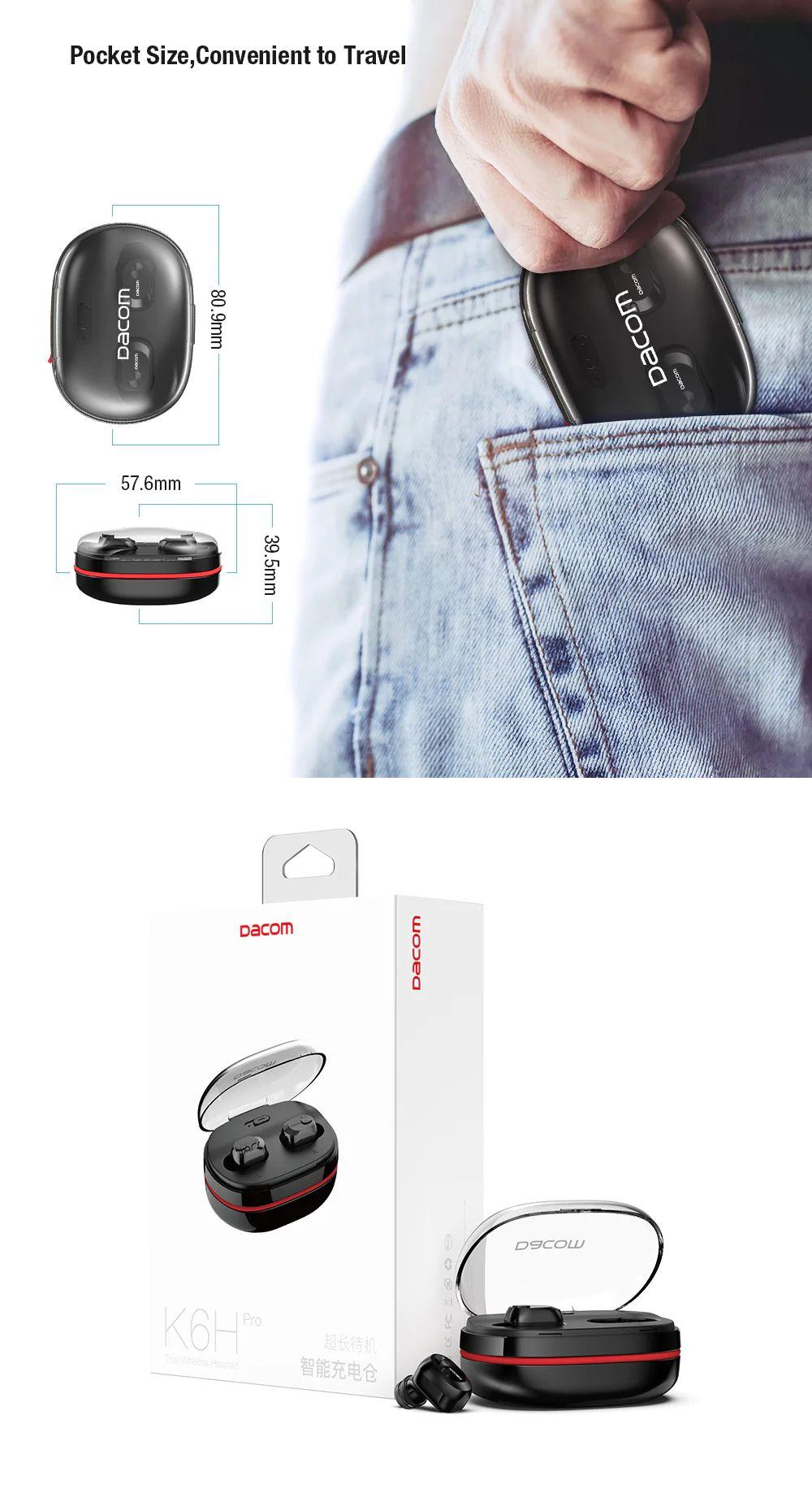 Dacom K6h Pro Tws Earphone Bluetooth Earbuds (4)