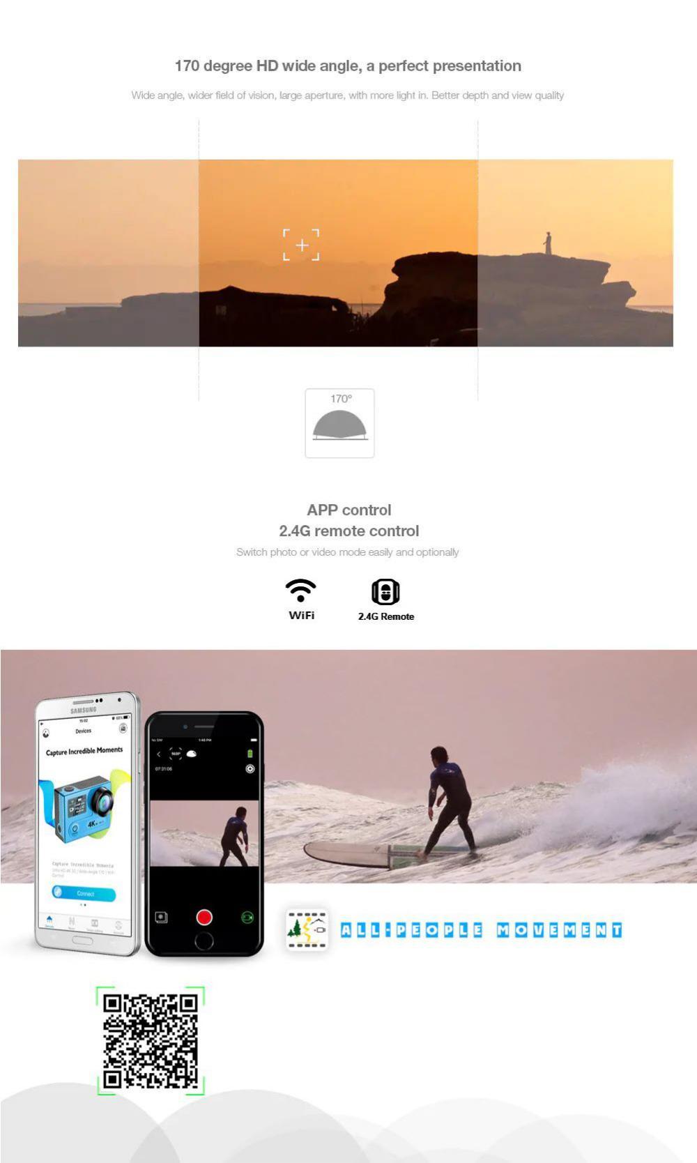 Eken H6s Sports Action Camera Eis 4k (3)