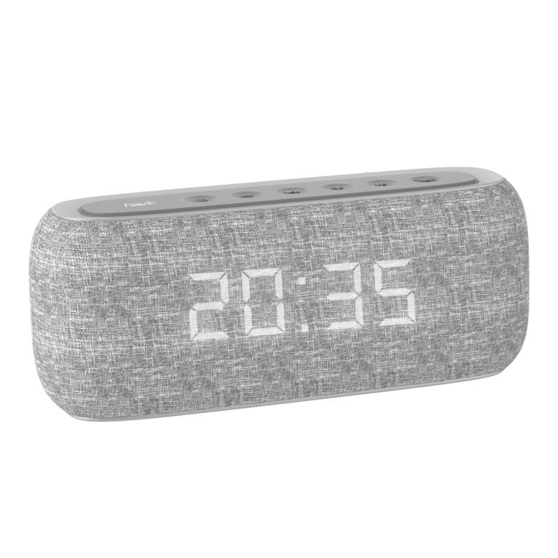 Havit M29 Bluetooth Speaker With Radio And Clock (1)