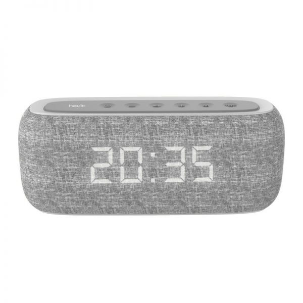 Havit M29 Bluetooth Speaker With Radio And Clock (2)