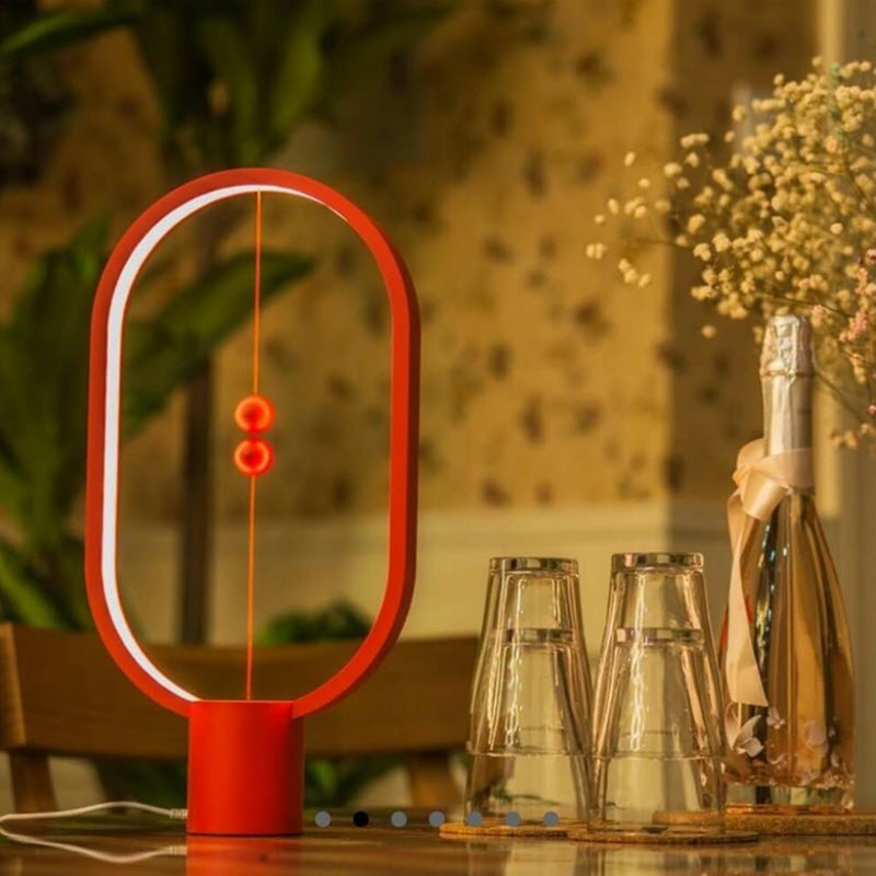 Heng Balance Lamp Magnetic Mid Air Switch Lamp