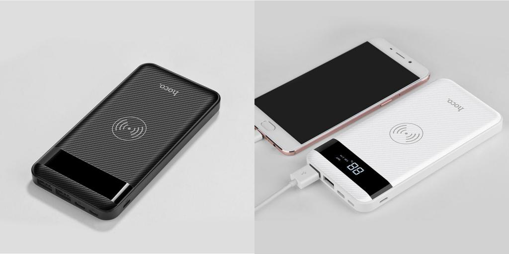 Hoco J11 Wireless Power Bank 10000mah (3)