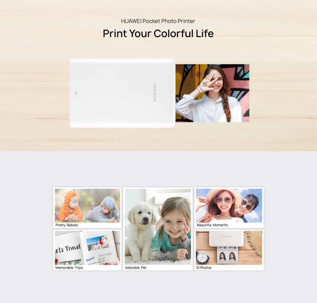 Huawei Portable Photo Printer (2)