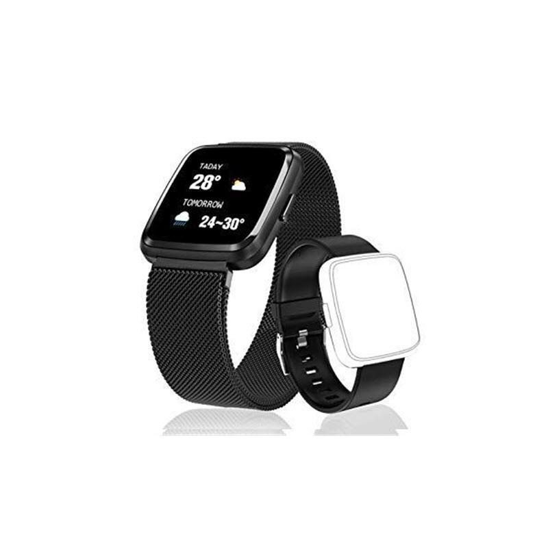 Huawise Y7 Smartwatch Dual Strap (1)