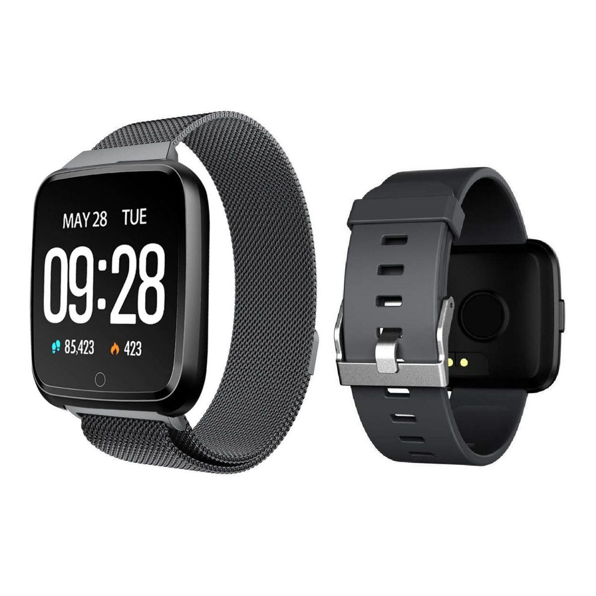 Huawise Y7 Smartwatch Dual Strap (2)