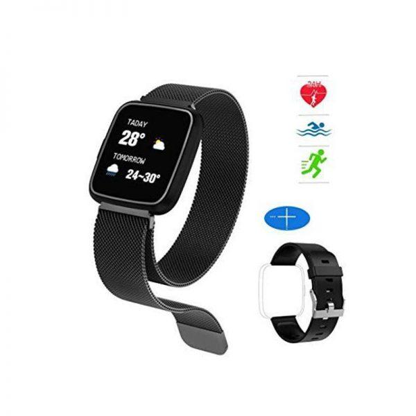 Huawise Y7 Smartwatch Dual Strap (3)