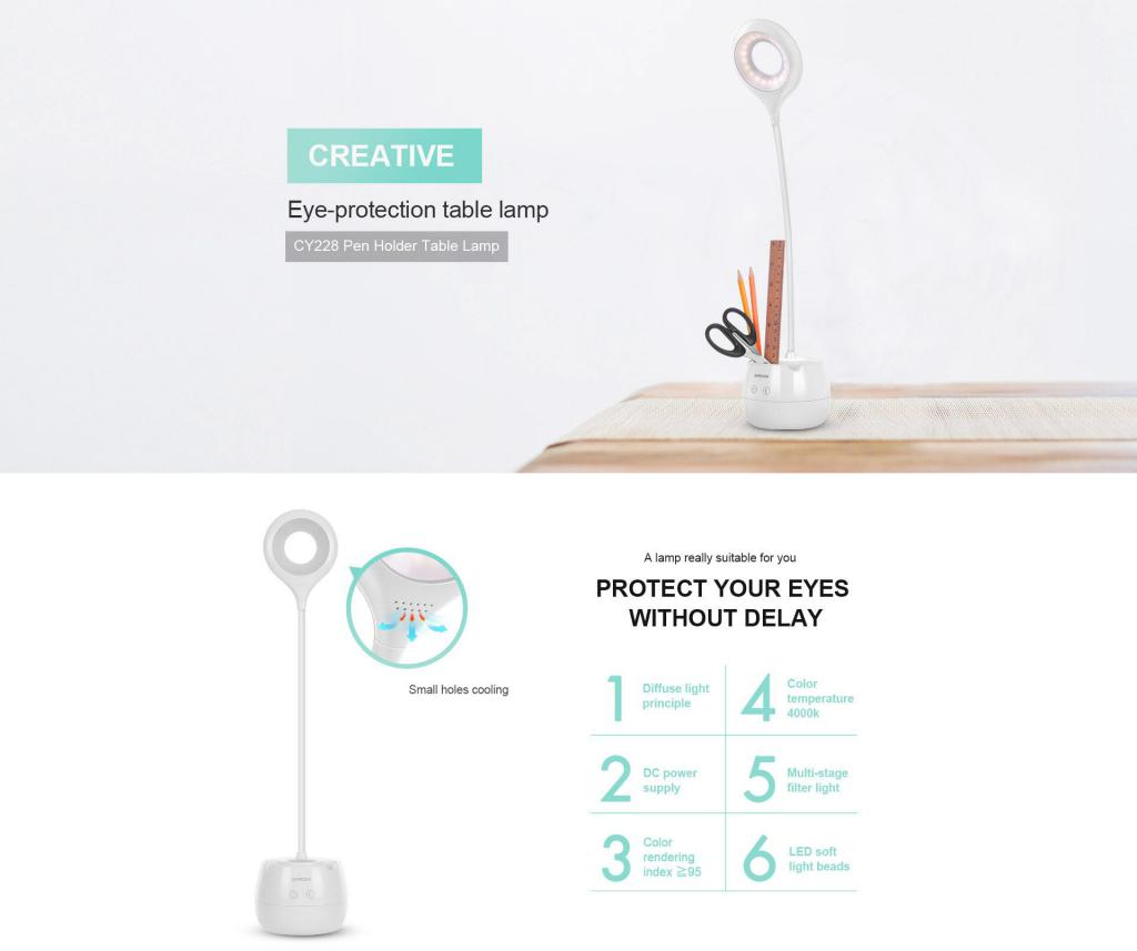 Joyroom Jr Cy228 Creative Pen Holder Table Lamp (1)