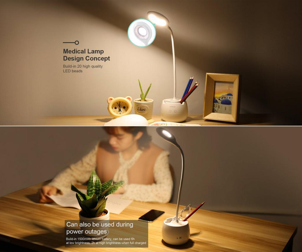 Joyroom Jr Cy228 Creative Pen Holder Table Lamp (2)