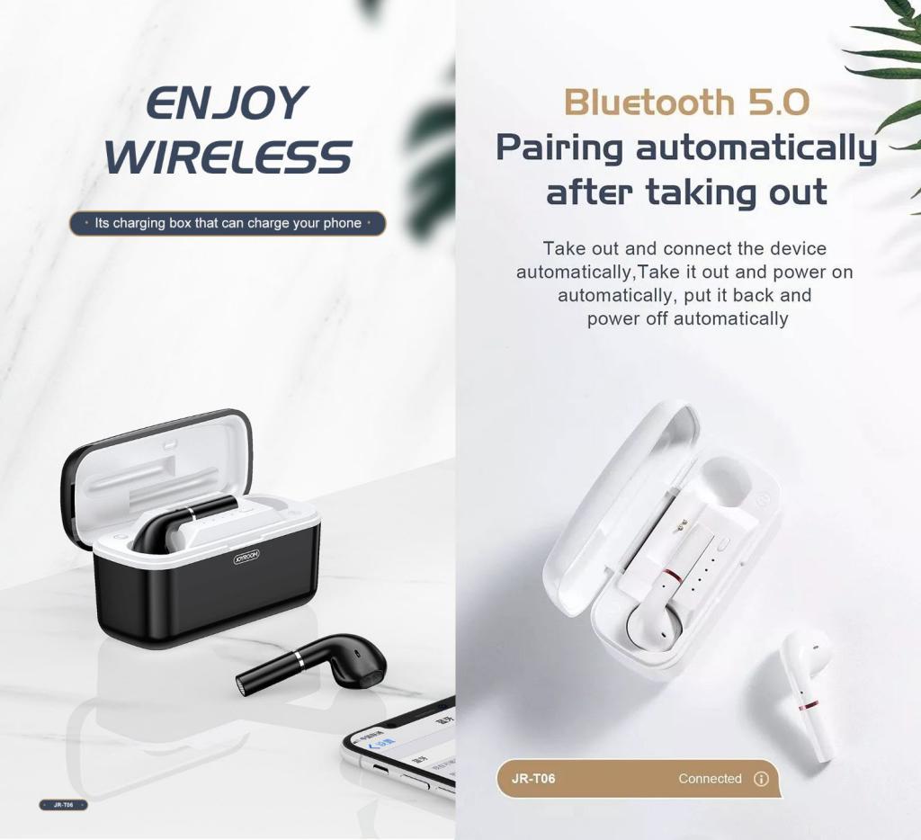 Joyroom Jr T06 Tws Bluetooth Earphones (1)