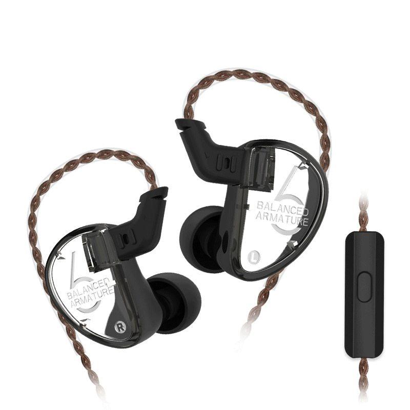 Kz As06 3ba Drive Unit In Ear Earphones (2)